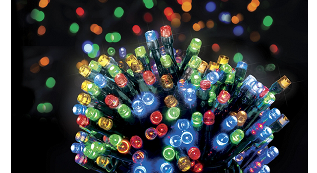 Multi coloured Energy Saving Christmas Budlights